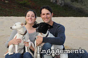 Engagement photography by Kira Godbe, dba Carmel Photography